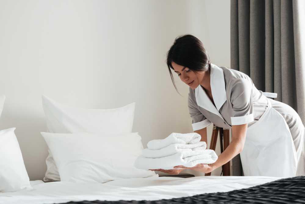 otel ortak alan temizliği